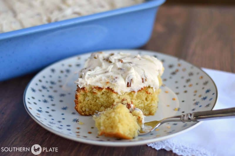 Italian Cream Cake - One of the most amazing cakes you'll ever make!