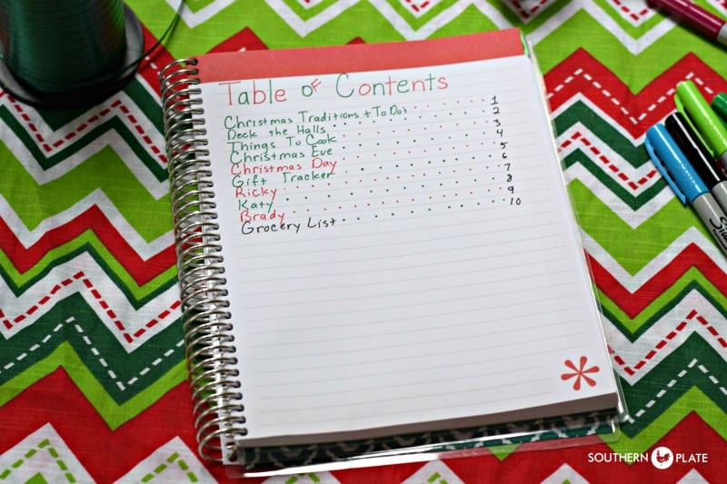 Turn Any Notebook Into The ULTIMATE Christmas Planner! Organization, Setup, Tips, and More!