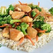 Fresh & Fast Chicken Teriyaki with Brown Rice