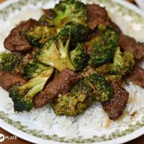 Southern Plate Beef and Broccoli