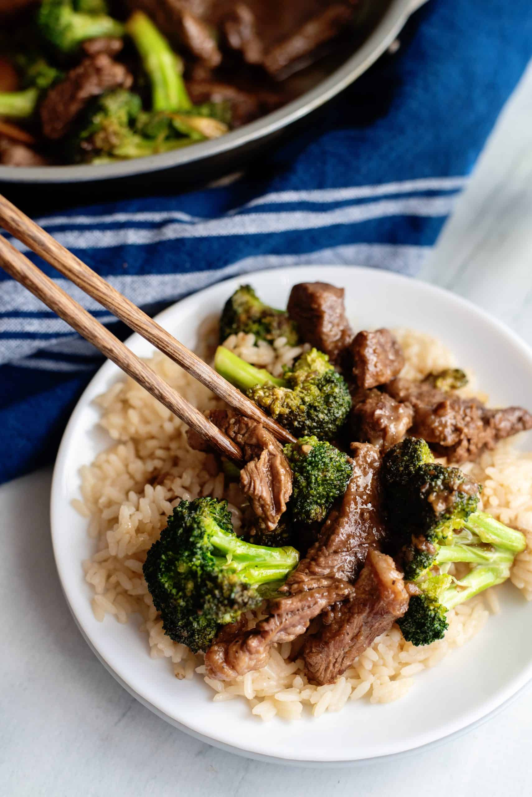 beef broccoli and rice