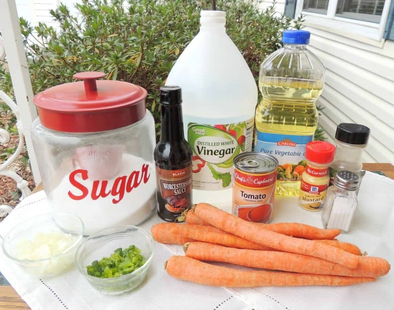 carrots ingredients