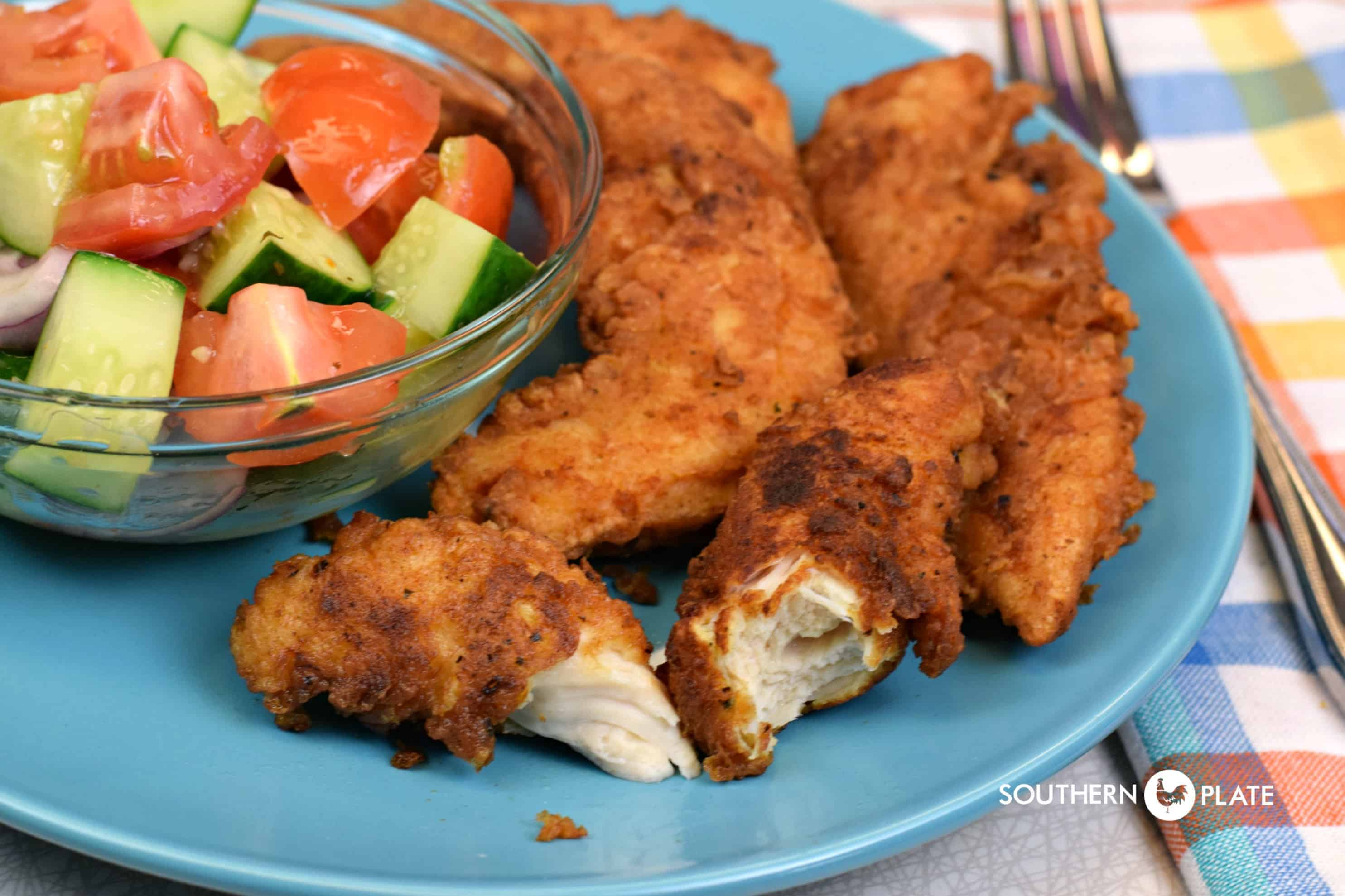 Ranch fried chicken tenders southern plate ranch fried chicken tenders forumfinder Image collections