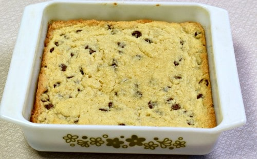 Chocolate Chip Butter Bars & Teaching Kids To Cook Guide!