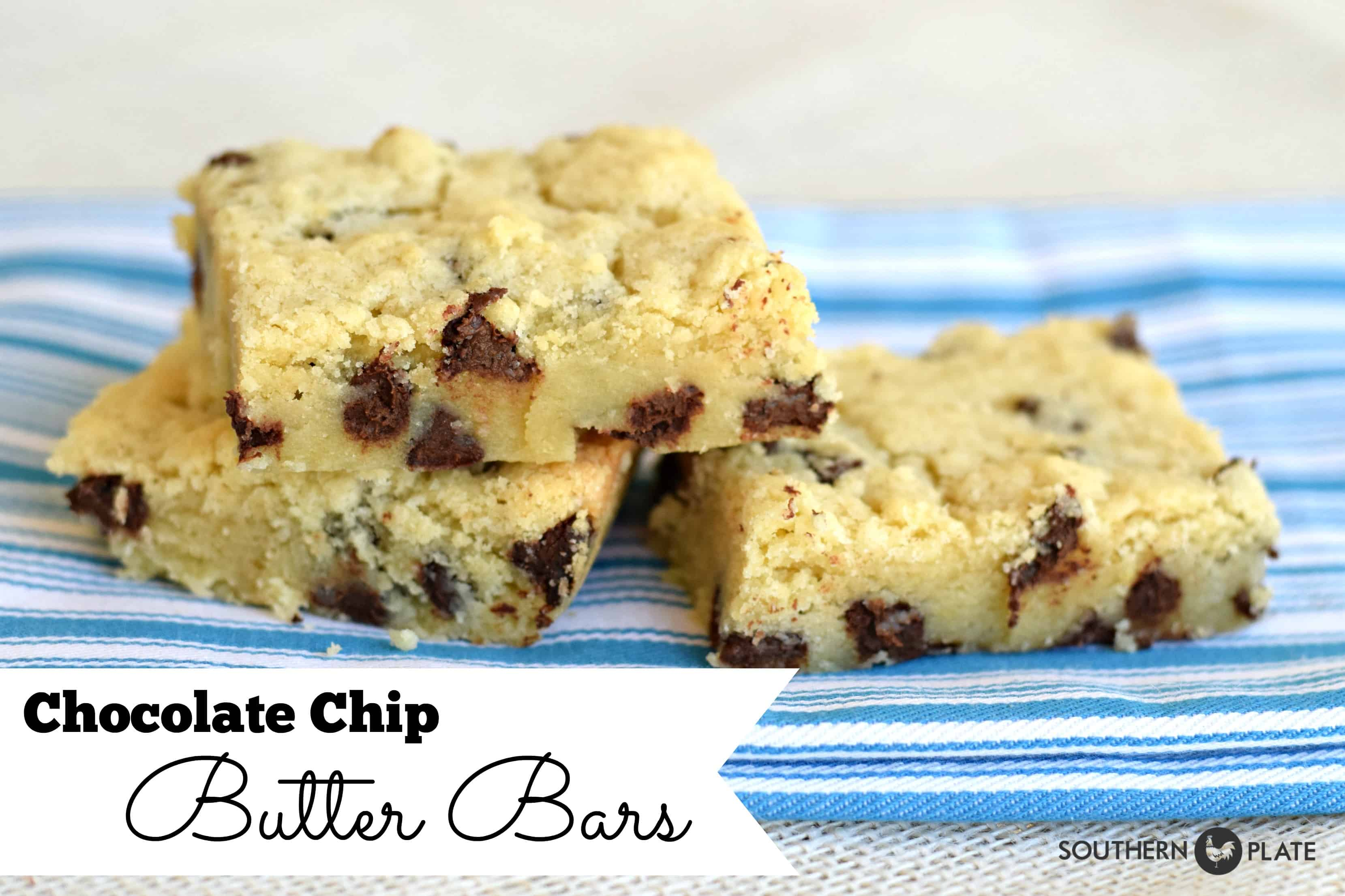 Chocolate Chip Butter Bars & Teaching Kids To Cook Guide ...