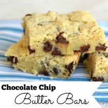 square butter bars