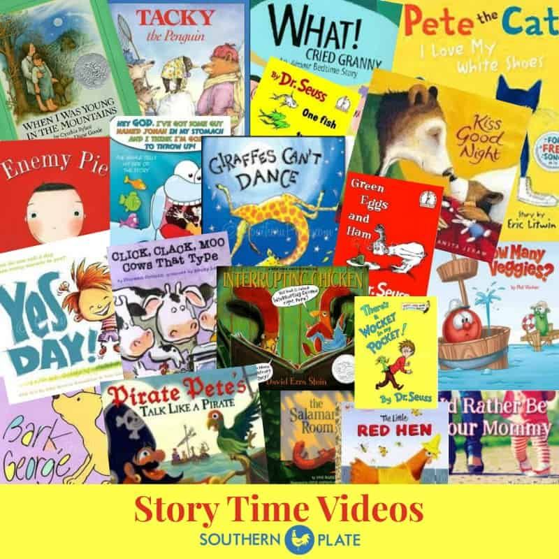 Story Time Videos Southern Plate