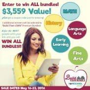 Build Your Bundle Homeschool Curriculum Sale!