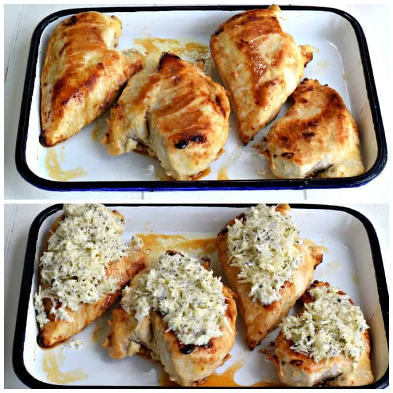 Lemon Parmesan Chicken - bright and flavorful!
