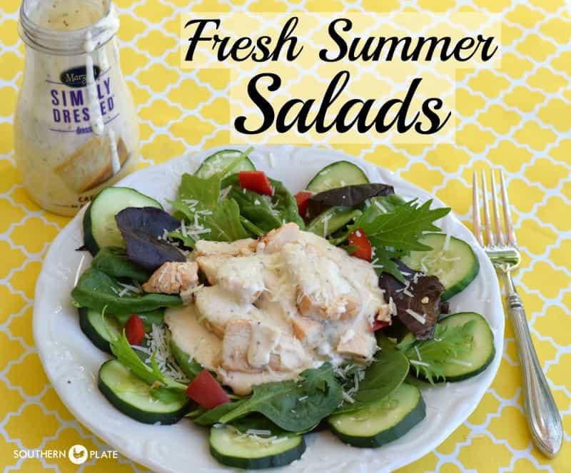 fresh summer salads
