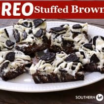 oreo stuffed brownies