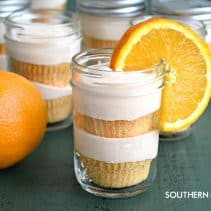 Creamsicle Cakes In Jars