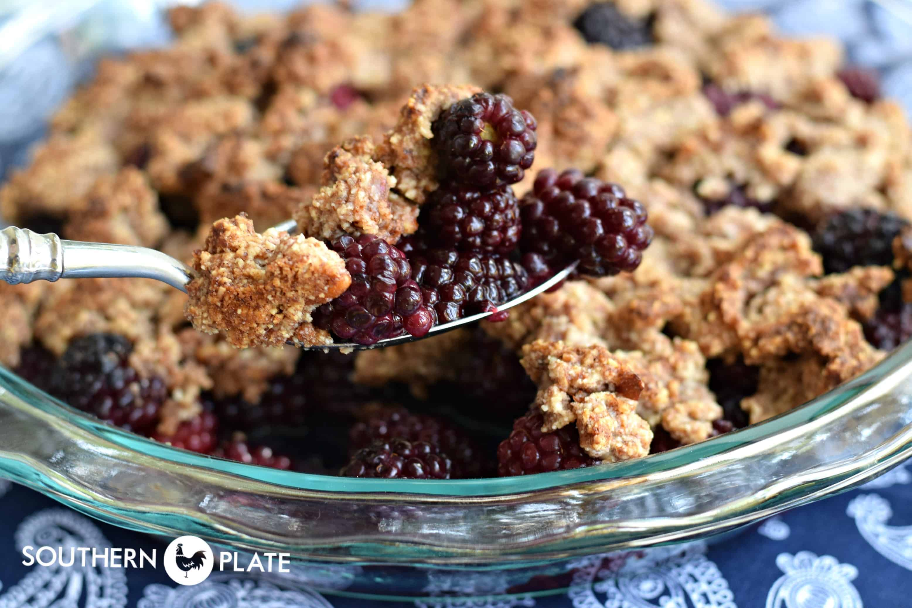 Low Carb Delicious Berry Crisp Southern Plate