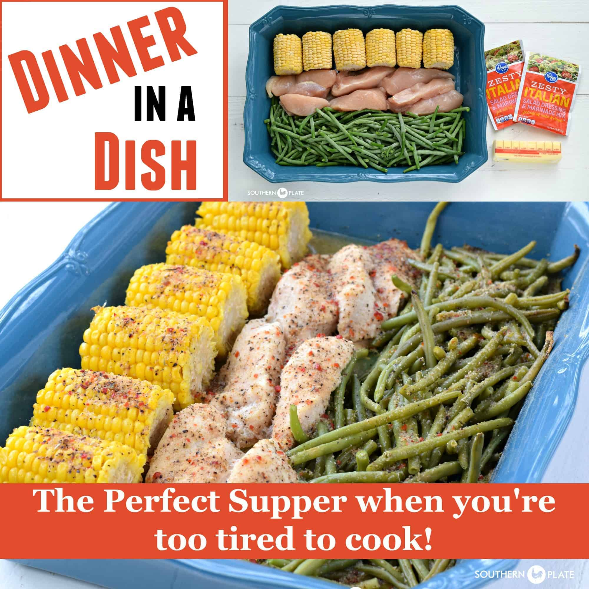 Dinner In A Dish - The Perfect Supper When Youu0027re Too Tired To Cook! - Southern Plate  sc 1 st  Southern Plate & Dinner In A Dish - The Perfect Supper When Youu0027re Too Tired To Cook ...