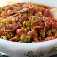 Bacon Okra Tomatoes