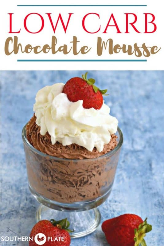 Quick and Easy Chocolate Mousse For One