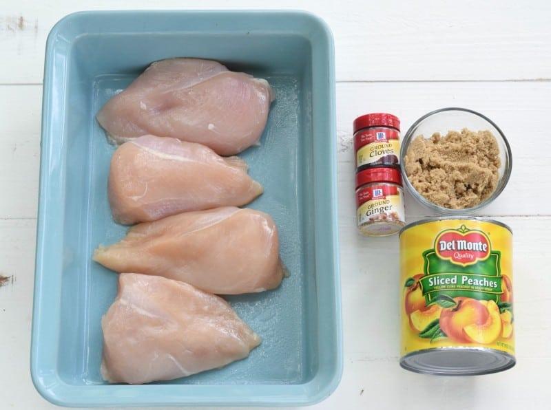 Georgia Chicken Ingredients