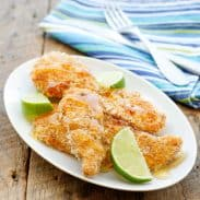 Crunchy Honey Lime Chicken