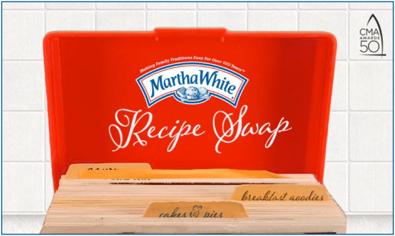 Martha White's CMA Awards Recipe Swap Party & Giveaway!