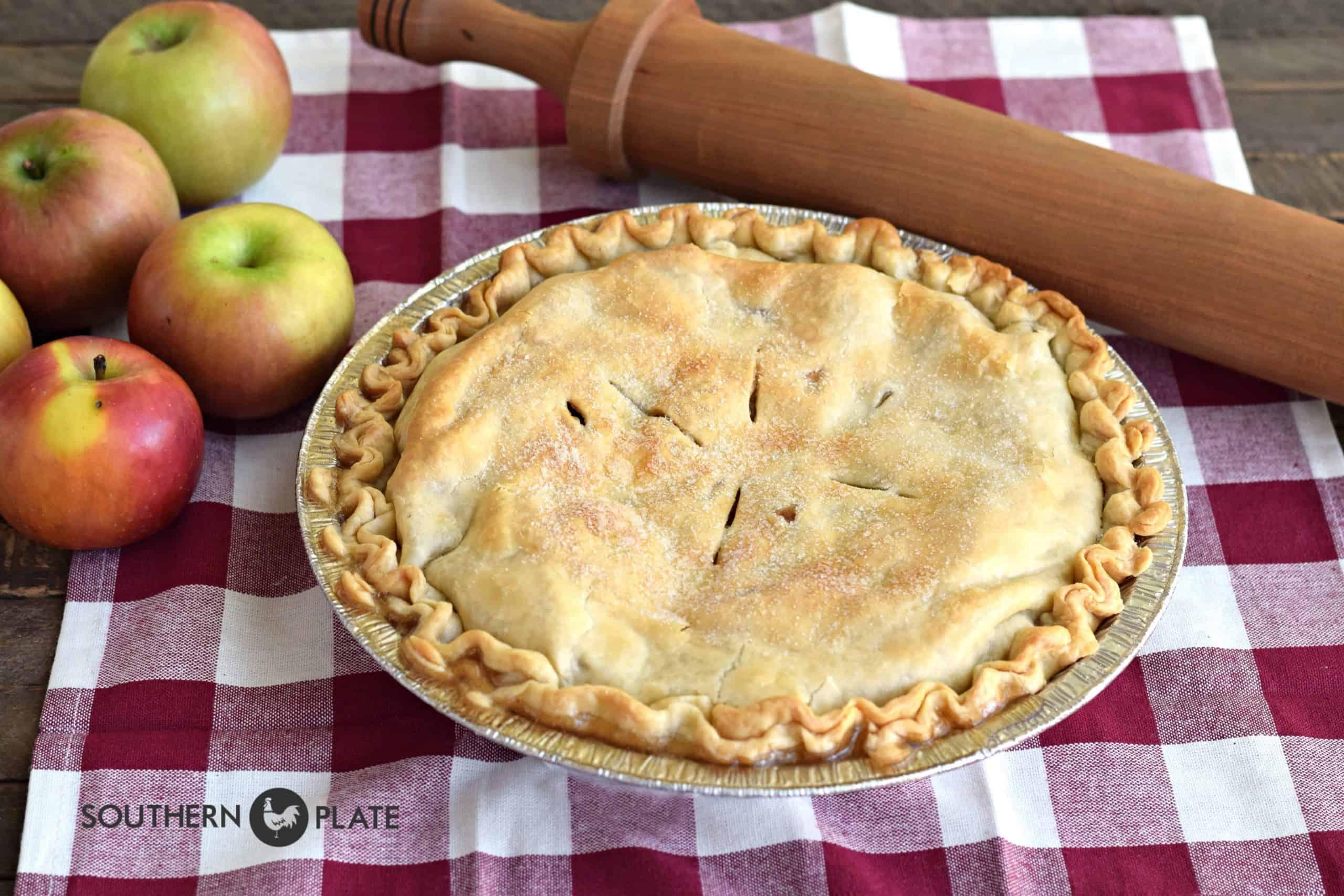 Freezer Apple Pie