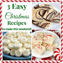 3-easy-christmas-recipes-to-make-this-weekend