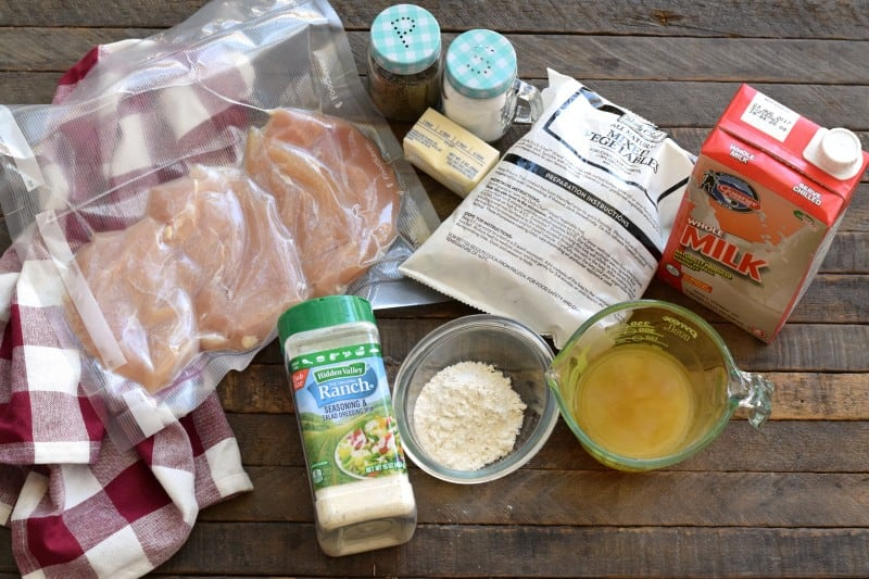 crustless-chicken-pot-pie-ingredients