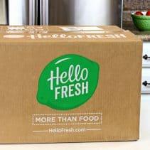 1hello fresh delivery box