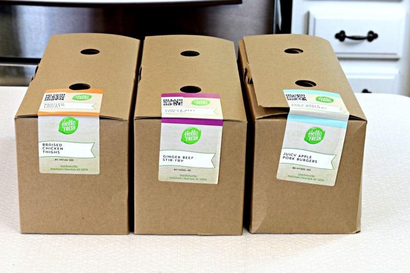 1hello fresh ingredient boxes