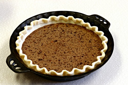 Grandmama's Chocolate Chess Pie