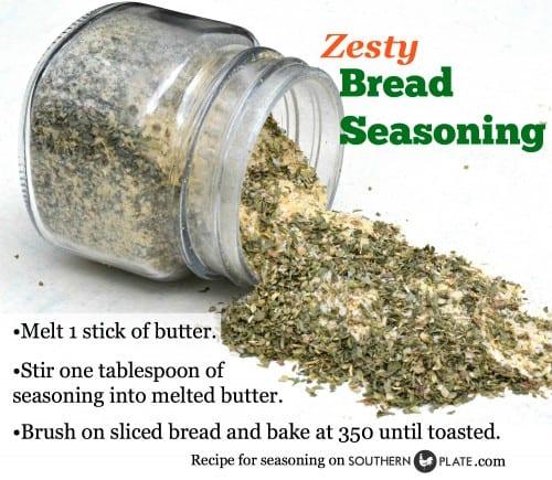 Zesty Bread Seasoning