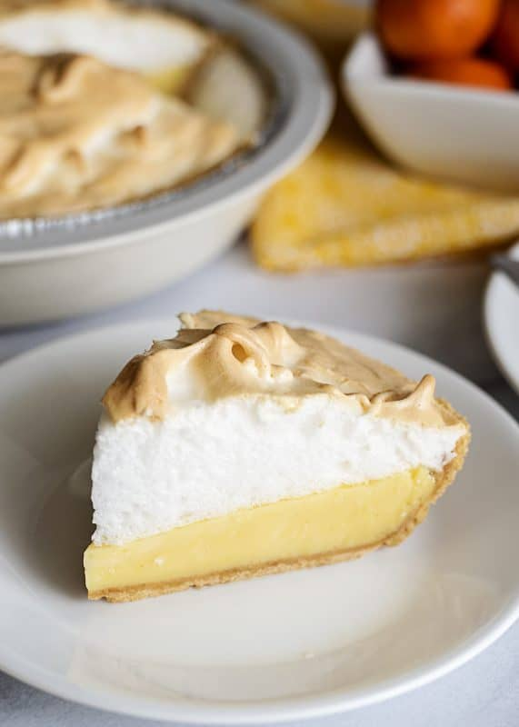Orange Meringue Pie