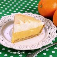 Orange Meringue Pie SouthernPlate