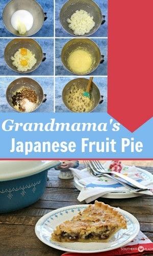 Grandmama's Japanese Fruit Pie Pinterest