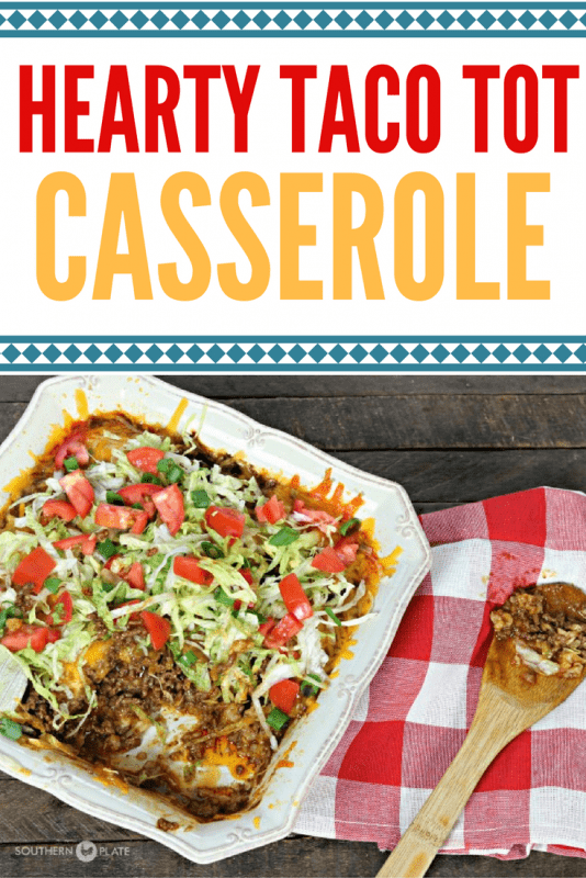 Hearty Taco Tot Casserole