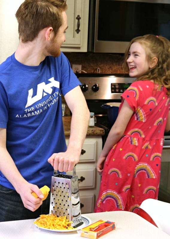 brady and katy cooking