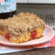 Cake Mix Cherry Crumb Cake