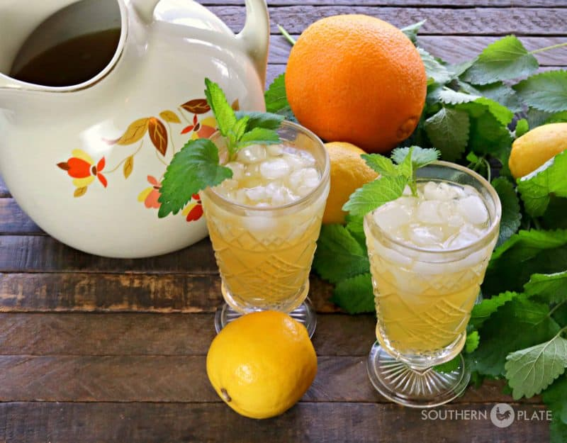 Vintage Iced Tea Punch