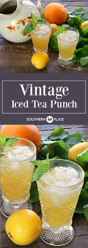 Vintage Iced Tea Punch SouthernPlate