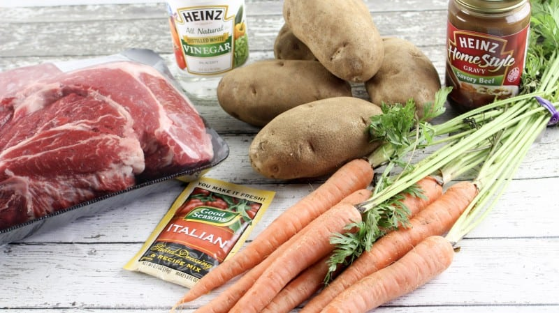 Tuscany Pot Roast and Veggies - The secret is in the sauce!