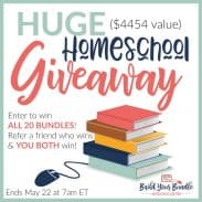 BIGGEST HOMESCHOOL SALE OF THE YEAR!