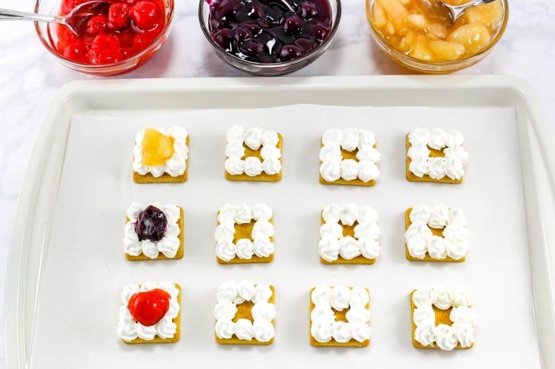 Easy Fruit Pie Cookie Bites
