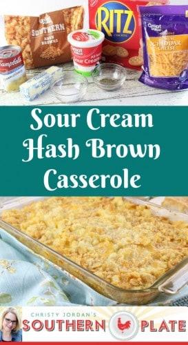 Sour Cream Hash Brown Casserole Recipe