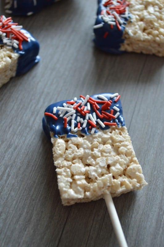 Patriotic Cereal Treats