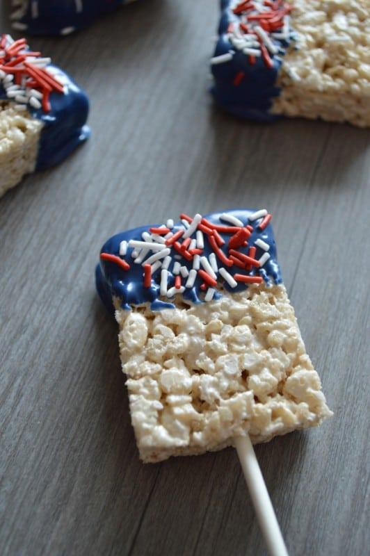 Patriotic Cereal Treats