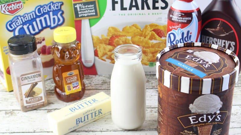 Fried Ice Cream Milkshakes #SummerDessertWeek