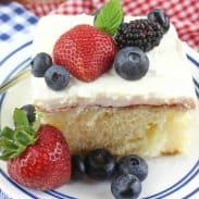 Chantilly Sheet Cake