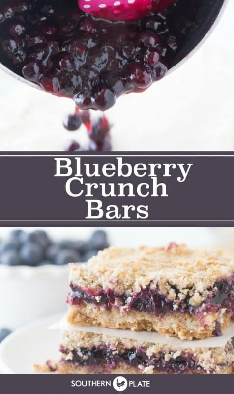 Blueberry Crunch Bars