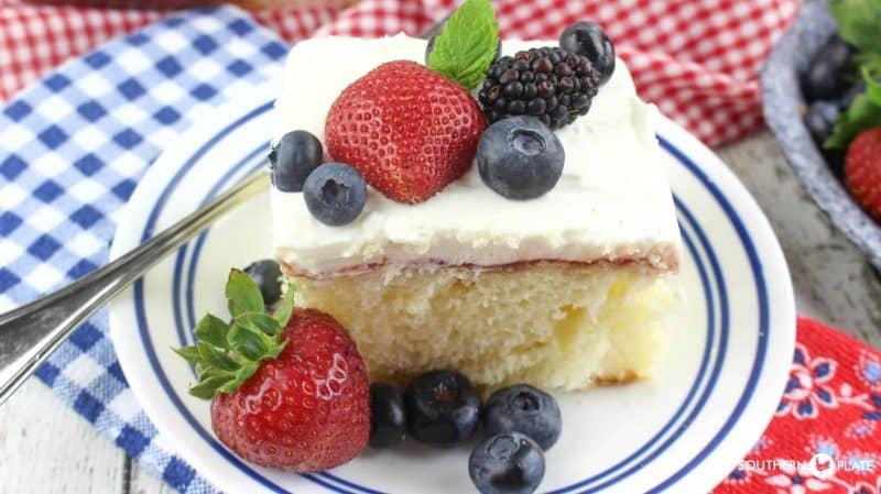 Chantilly Sheet Cake 1