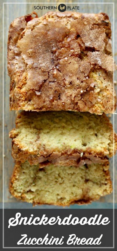 Snickerdoodle Zucchini Bread Pinterest