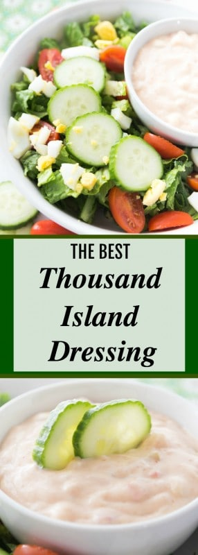 THE BEST Thousand Island Dressing Recipe